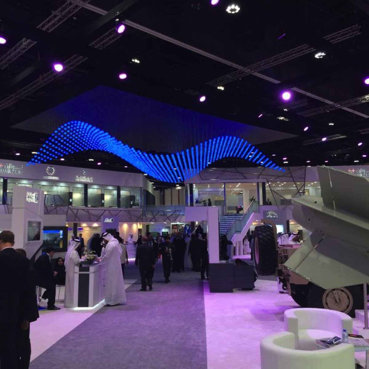Kinetic Lights in IDEX 2015